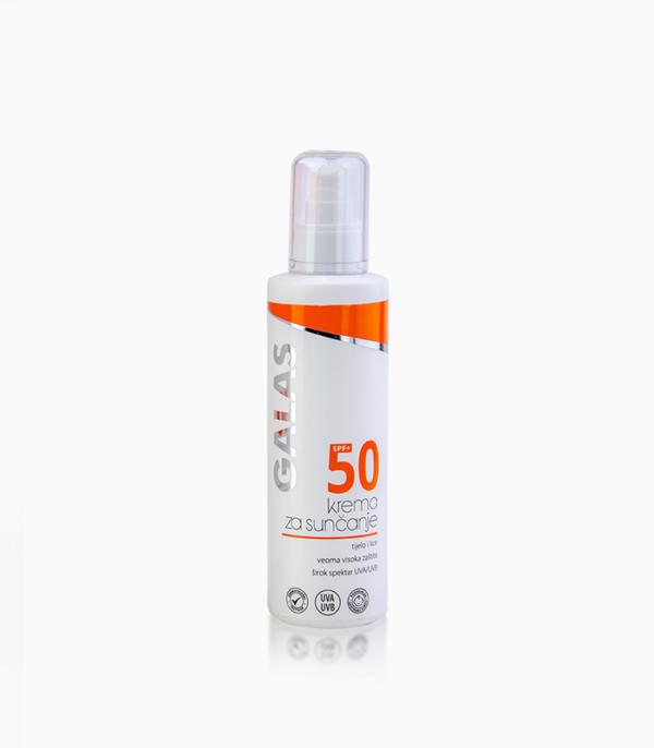 product galas krema za suncanje spf50+